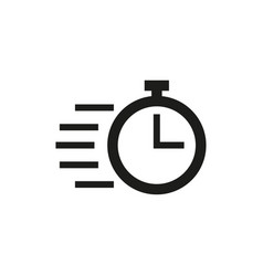 Speed icon simple vector