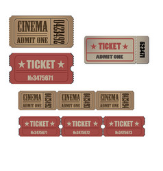 Ticket vintage luggage travel pass tag design old vector