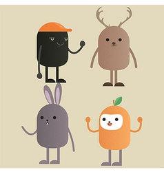 Character Monster Gang vector image vector image