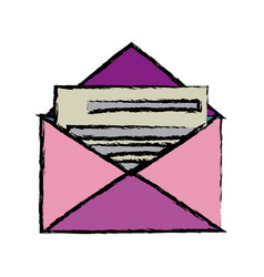 Envelope mail message postal letter vector