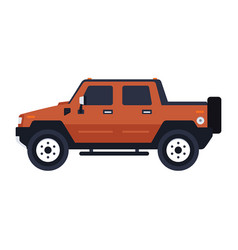 Hummer pickup vector