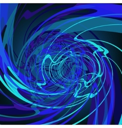 Blue abstract stylish fantasy background EPS8 vector