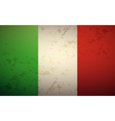 Flag Italy vector image