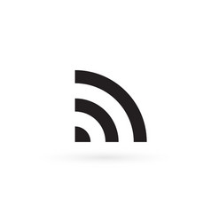free wi-fi icon 5g network symbol cellular vector image