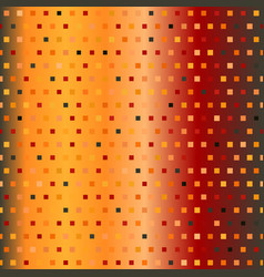 Glowing square pattern seamless multicolor vector