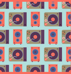 hip hop accessory musician instruments background vector image