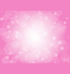 pink love backgrounds with circles vector image