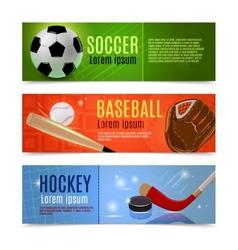Sport Banner Set vector