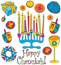 happy ChanUKah vector image vector image