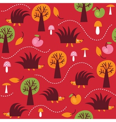 children fabric design vector image vector image