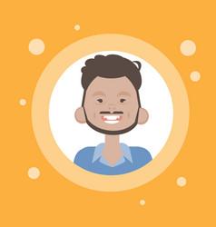 profile icon male avatar man cartoon portrait vector image