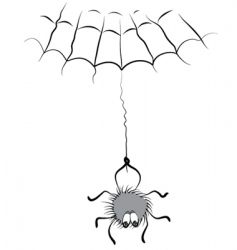 spider comic vector image vector image