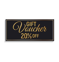gift voucher template background vector image