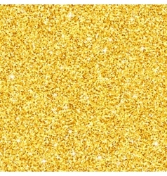 Gold glitter seamless pattern texture vector image