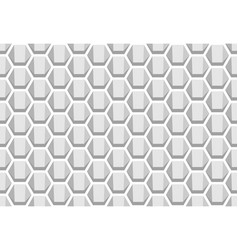 hexagon geometric pattern seamless texture vector image