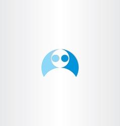 Men wrestling icon element vector