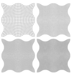 Set the watermark guilloche element vector