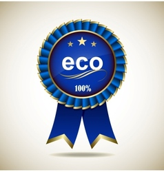 Eco and Natural vector image