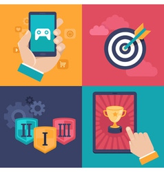 game app vector image vector image