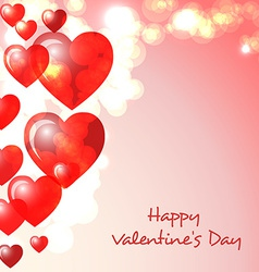 Happy Valentimes day greeting card vector image vector image