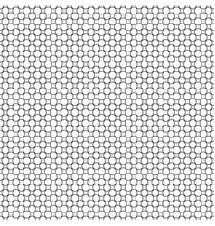 abstract black and white circle pattern vector image