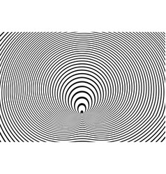 circle lines pattern vector image