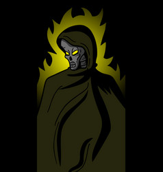 cover demon vector image