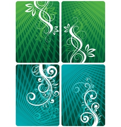 Decorative panels vector