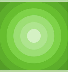 green circle background vector image