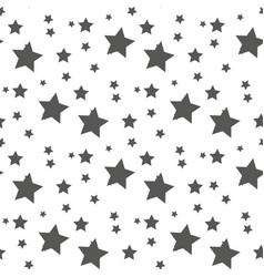 star seamless pattern cute kids star seamless vector image