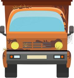 Tip truck vector