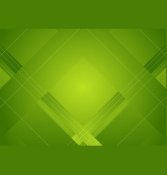 green abstract geometric minimal background vector image vector image