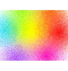 Rainbow colors sprayed paint abstract vector image