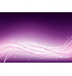 abstract pink vector image vector image