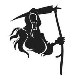 death tattoo vector image