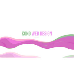 Abstract header website design collection vector