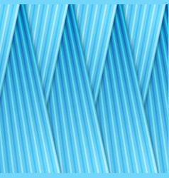 blue abstract smooth lines material background vector image
