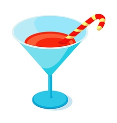 icon cocktail vector image