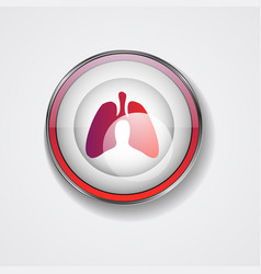 Lungs person vector
