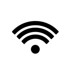 wifi icon wifi icon isolated on white vector image