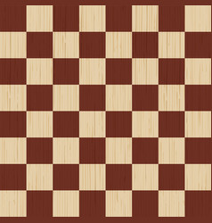 wooden background chess board wood texture pine vector image