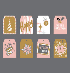 Tags for gifts vector