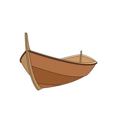 Wooden-Boat-380x400 vector image vector image
