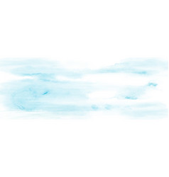 Abstract sky and cloud light blue watercolor vector