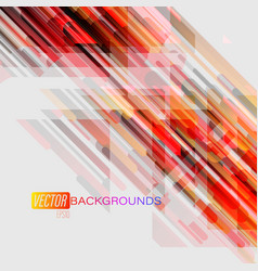 abstract translucent colors shapes on a gray vector image