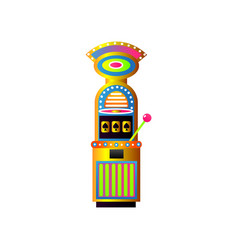 Casino lucky slot machine las vegas jackpot vector