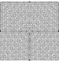 Coloring page Seamless pattern zendoodle for art vector