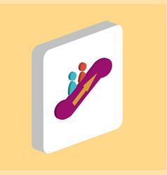 elevator computer symbol vector image