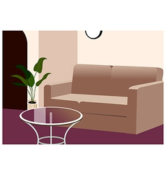 Home Lounge Background vector