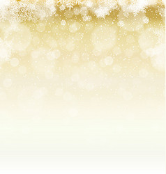 Merry Christmas Abstract Lights Background Stars vector image